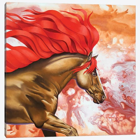 Blood Of The Stallion Canvas Print #GST11} by Graeme Stevenson Art Print