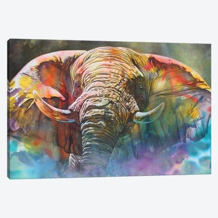 Back Off Large Canvas Print #GST120} by Graeme Stevenson Canvas Artwork
