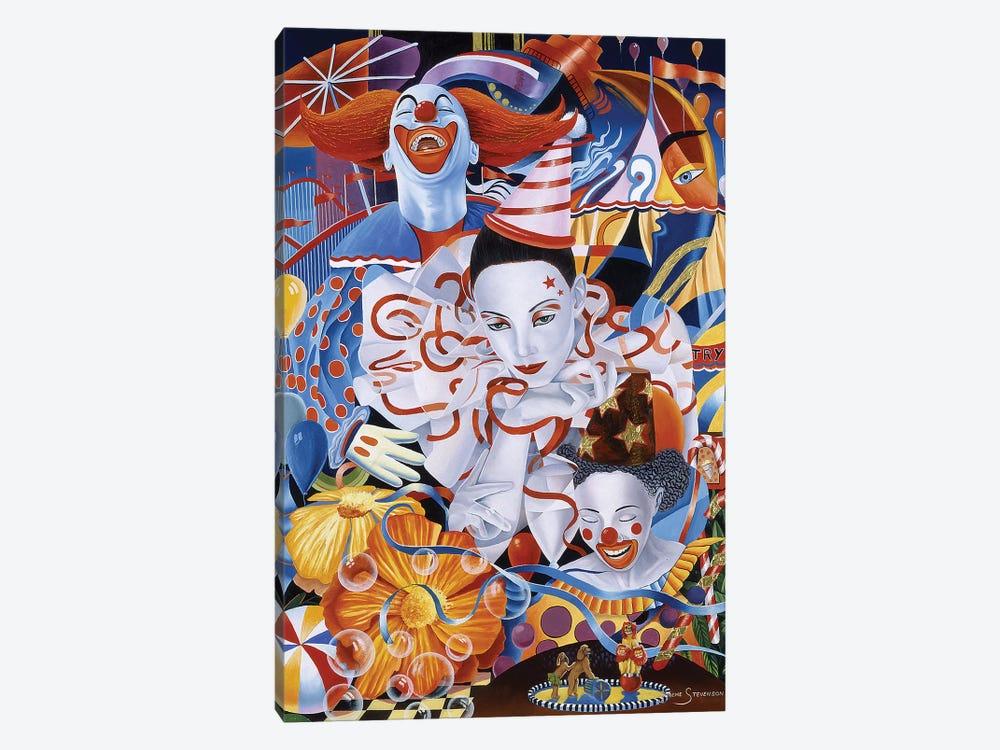 Be A Clown by Graeme Stevenson 1-piece Canvas Wall Art
