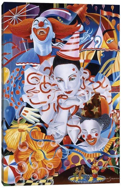 Be A Clown Canvas Art Print