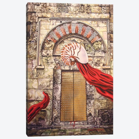 Behind The Door Canvas Print #GST123} by Graeme Stevenson Canvas Wall Art