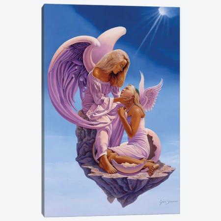 Birth Of An Angel Canvas Print #GST127} by Graeme Stevenson Art Print