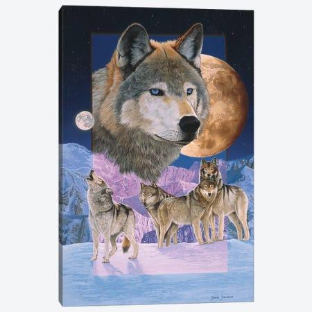 Blue Moon Canvas Print #GST130} by Graeme Stevenson Art Print