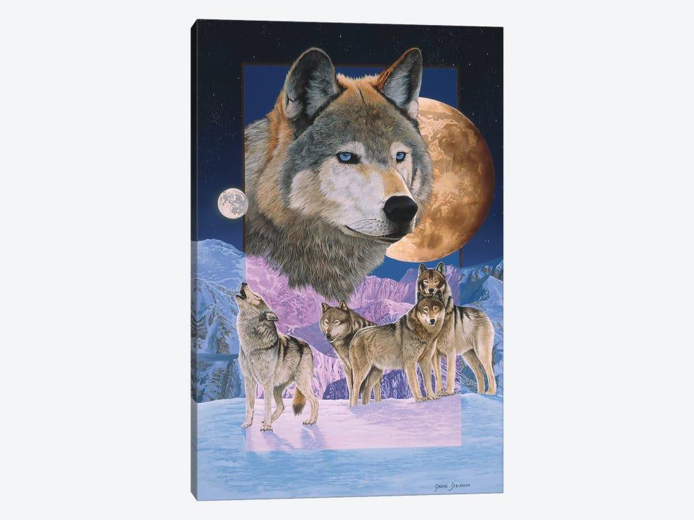 Blue Moon by Graeme Stevenson 1-piece Canvas Artwork