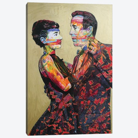 Bogey Nights Canvas Print #GST134} by Graeme Stevenson Canvas Art