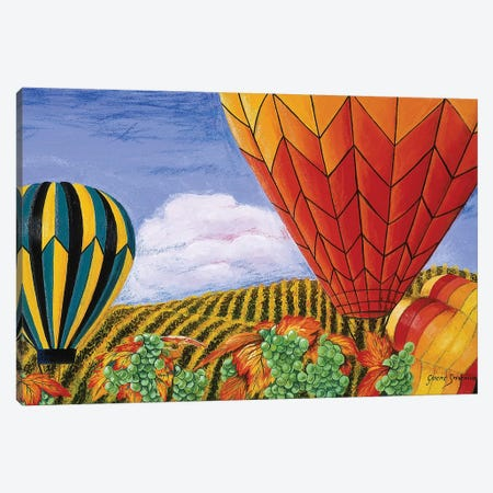 California Balloons Canvas Print #GST13} by Graeme Stevenson Canvas Art Print