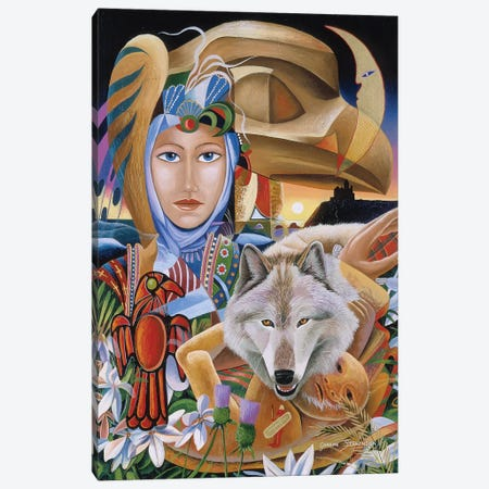 Celtic Dawn Canvas Print #GST141} by Graeme Stevenson Canvas Artwork