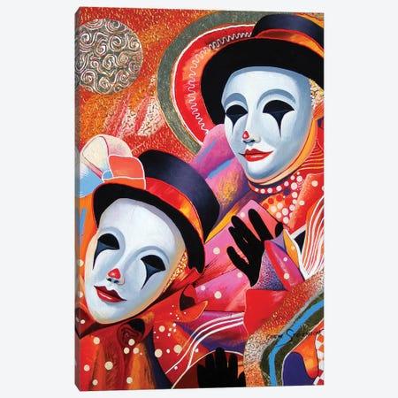 Clowing Around Canvas Print #GST143} by Graeme Stevenson Canvas Artwork