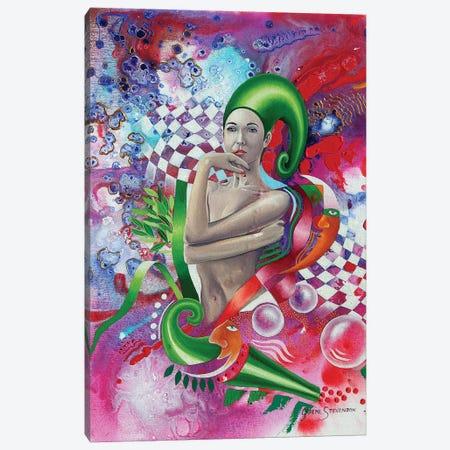 Contemplation 3-Piece Canvas #GST149} by Graeme Stevenson Canvas Art