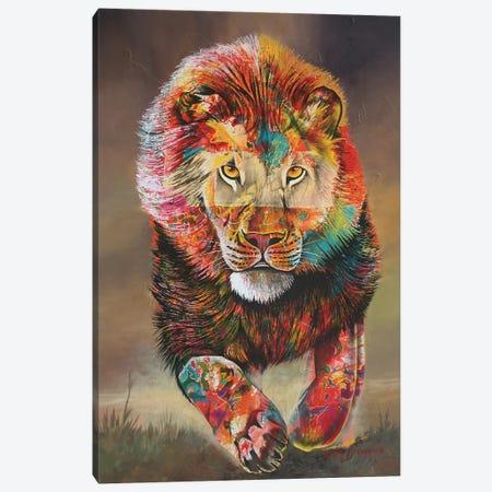 Colours Of Fear Canvas Print #GST14} by Graeme Stevenson Canvas Art