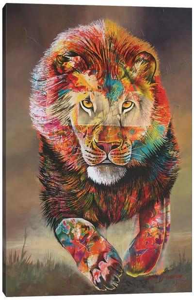 Colours Of Fear Canvas Art Print
