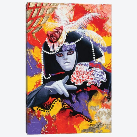 Dark Emotion Canvas Print #GST151} by Graeme Stevenson Canvas Art Print