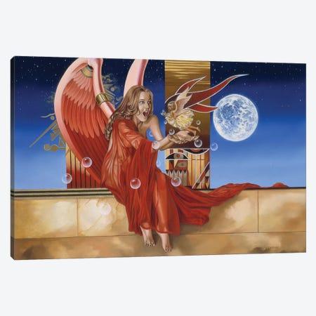 Divine Surprise Canvas Print #GST154} by Graeme Stevenson Canvas Wall Art