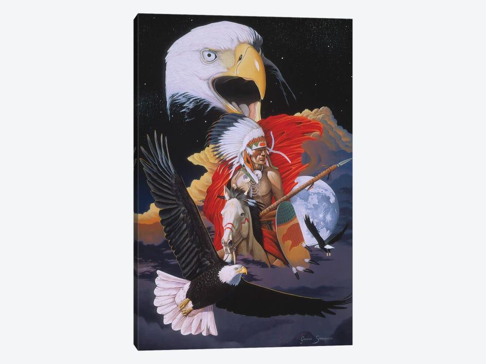 Eagle Warrior by Graeme Stevenson 1-piece Canvas Art Print