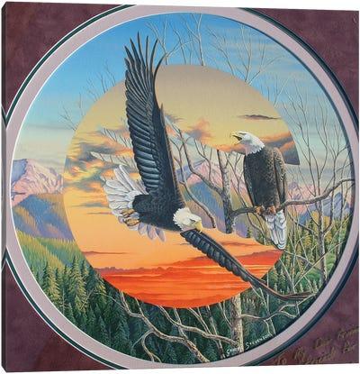 Eagles Canvas Art Print