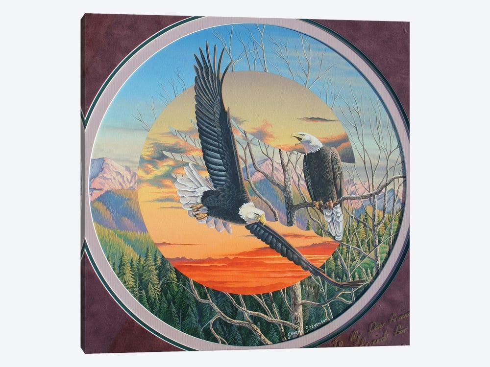 Eagles by Graeme Stevenson 1-piece Canvas Wall Art