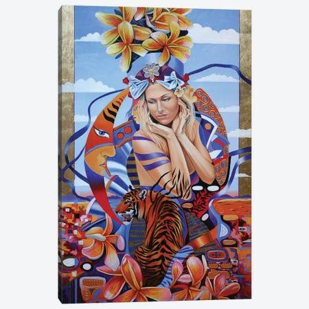 Electric Madonna Canvas Print #GST166} by Graeme Stevenson Art Print