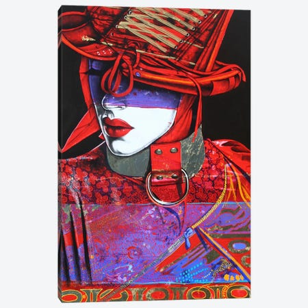Devine Devil Canvas Print #GST16} by Graeme Stevenson Canvas Wall Art