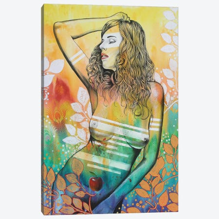 Eve Canvas Print #GST171} by Graeme Stevenson Art Print