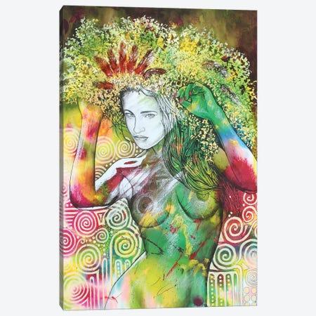 Frolic On The Green Canvas Print #GST177} by Graeme Stevenson Canvas Wall Art