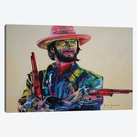 Die'n Is A Hell Of A Way To Make A Living Canvas Print #GST17} by Graeme Stevenson Canvas Art