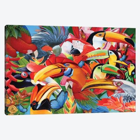 Heads Up Canvas Print #GST184} by Graeme Stevenson Canvas Art Print