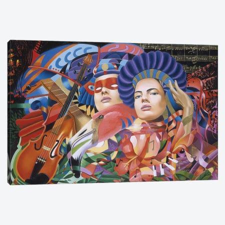 Is That You Mozart I Canvas Print #GST191} by Graeme Stevenson Art Print