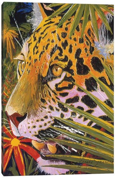 Jaguar Jungle Canvas Art Print