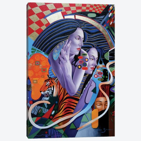 Kissed By A Rose Canvas Print #GST198} by Graeme Stevenson Art Print