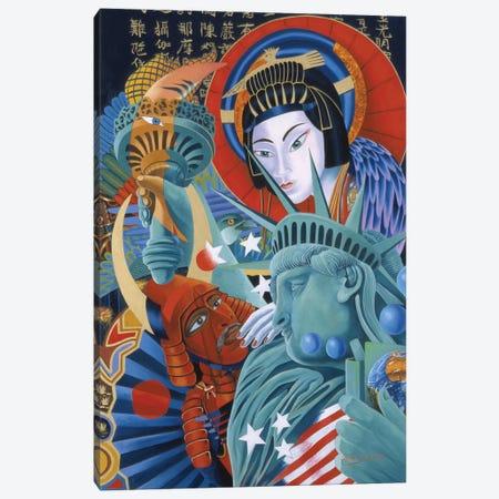 East Meets West Canvas Print #GST19} by Graeme Stevenson Canvas Art Print