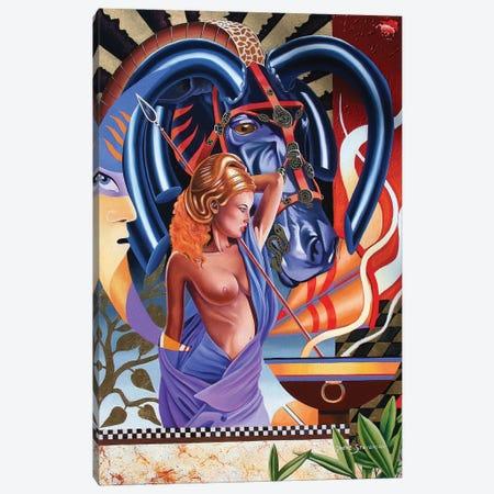 Last Warrior Canvas Print #GST200} by Graeme Stevenson Canvas Print