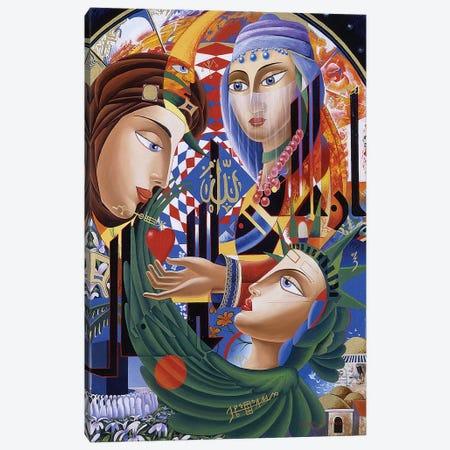 Liberation Of Allah Canvas Print #GST201} by Graeme Stevenson Canvas Art Print