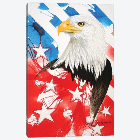 Liberty Canvas Print #GST202} by Graeme Stevenson Canvas Art Print