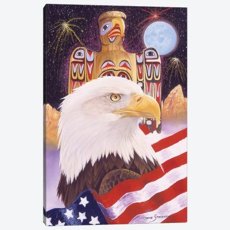 Liberty And Freedom Canvas Print #GST203} by Graeme Stevenson Art Print