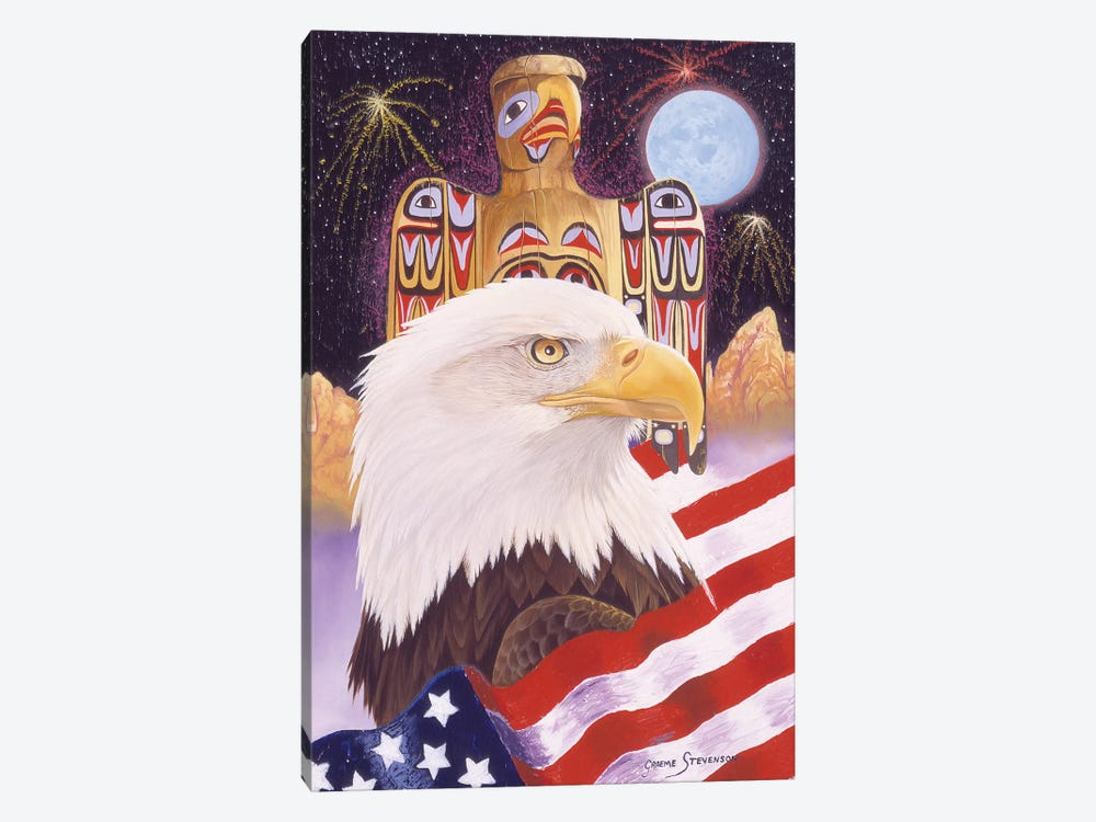 Liberty And Freedom by Graeme Stevenson 1-piece Canvas Wall Art