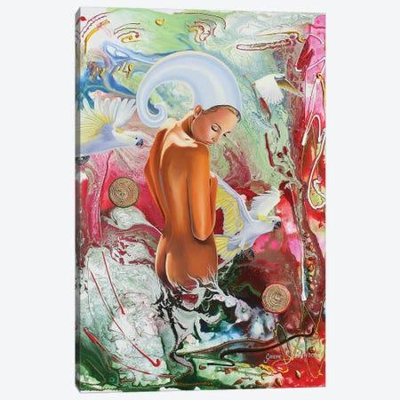 Life Begins Canvas Print #GST204} by Graeme Stevenson Canvas Wall Art