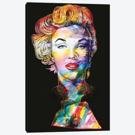 Lips For You Canvas Print #GST206} by Graeme Stevenson Canvas Artwork