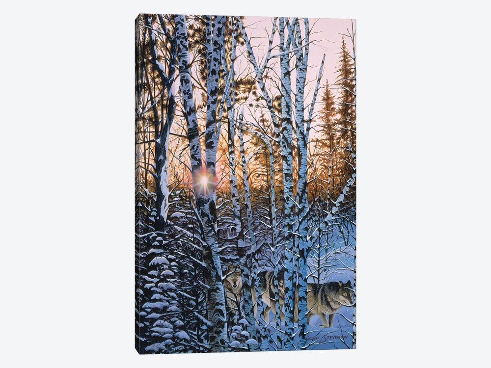 Lupus Dawn by Graeme Stevenson 1-piece Art Print