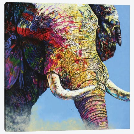 Electric Matriarch Canvas Print #GST20} by Graeme Stevenson Canvas Art