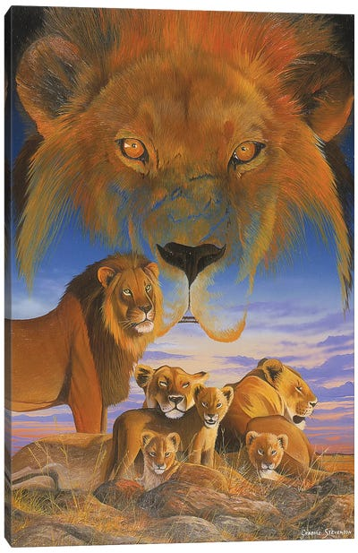 Masai Morning Canvas Art Print