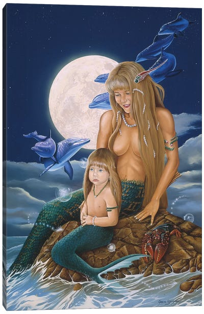Mermaids Canvas Art Print
