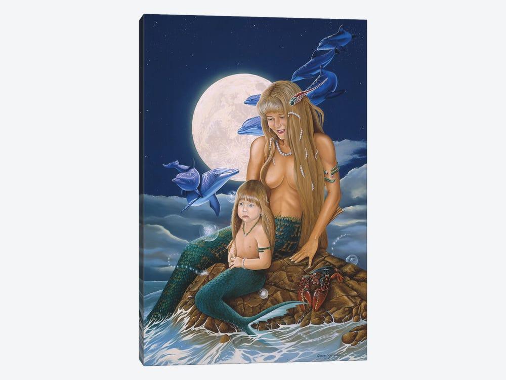 Mermaids by Graeme Stevenson 1-piece Canvas Art Print