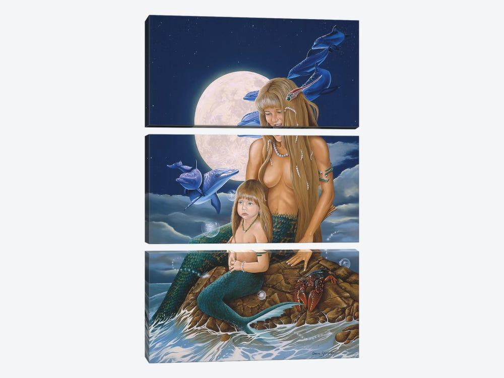 Mermaids by Graeme Stevenson 3-piece Art Print