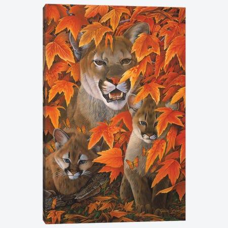 Mountain Colors Canvas Print #GST219} by Graeme Stevenson Canvas Artwork
