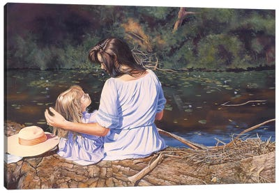 My Mothers Memories Canvas Art Print