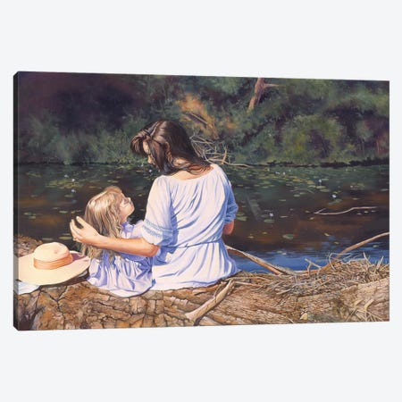 My Mothers Memories Canvas Print #GST224} by Graeme Stevenson Canvas Artwork