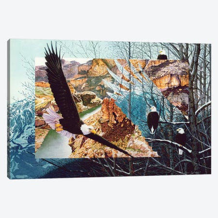 No Bounds No Barriers Canvas Print #GST227} by Graeme Stevenson Canvas Wall Art