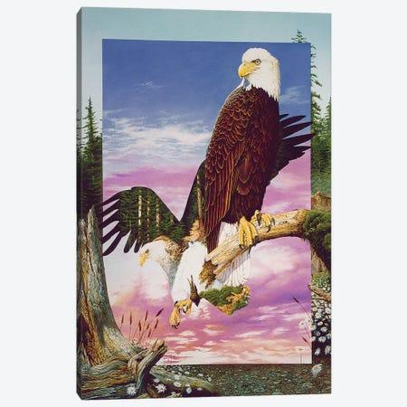 One With My Land Canvas Print #GST230} by Graeme Stevenson Canvas Wall Art