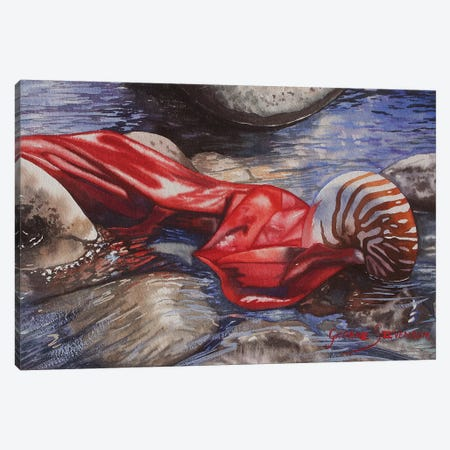 Originally Breathed Canvas Print #GST236} by Graeme Stevenson Canvas Print