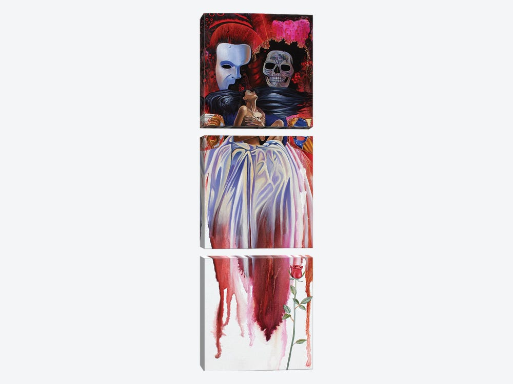 Phantom Desire by Graeme Stevenson 3-piece Canvas Art Print